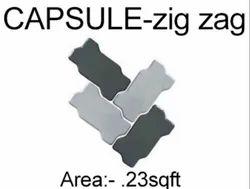 Capsule Zig Zag Heavy Duty Cement Pavers