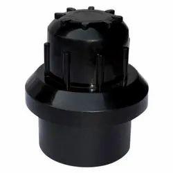 Jepal PVC Flush Valve Black