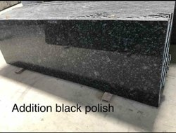 Addition Black Polish Granite Slab