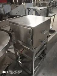 Stainless Steel Electric Idly Steamer, For Restaurant