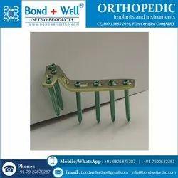 Orthopedic Implants T Buttress Locking Plate