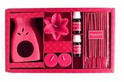 Rose Ceramic Aroma diffuser Gift Pack