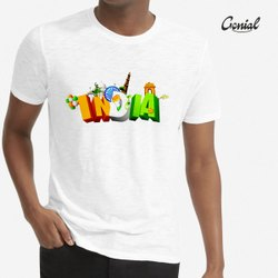 Genial White Independence Day T-Shirt