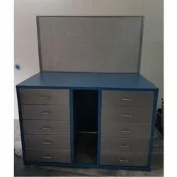 HV Engineering Powder Coated Mild Steel Assembly Work Table
