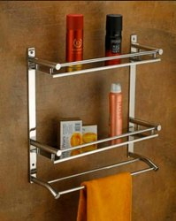 SS Bathroom Stand