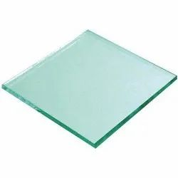 Transparent 4mm Square Plain Glass, For Home & Offices
