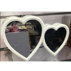 Double Heart Magic Mirror