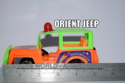 Battery Red Orient Jeep Toy, For School/Play School