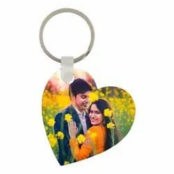 MDF Sublimation Keychain