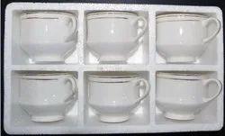 6 PCS EPS Thermocol Mug Packaging Box