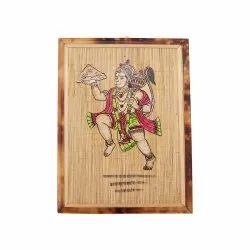 Decorative Bamboo Wall Hanging, Size: 12x9 inch