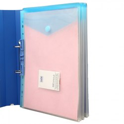 Solo Velcro CH202 Envelope Folder, Paper Size: A4, Packaging Type: 10 Pieces Packing