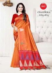 Bollywood Cotton Silk Saree