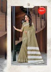 6.3 m (with blouse piece) Casual BHAGALPURI SILK