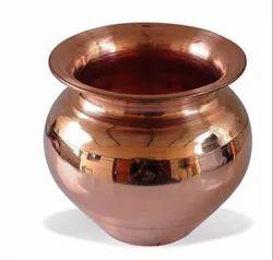 Plain Round Copper Chambu