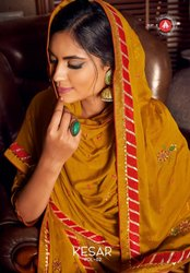 Tripple A Kesar Vol-2 Plazzo Style Salwar Suits Catalog