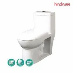 Starwhite Hindware VEGA S-300 One Piece Water Closet, Dimension: 64 X 35 X 70 Cm