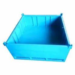 5 Ft Open Top Container Mild Steel Box, Capacity: 1 Ton