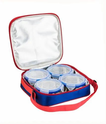 Zanelux Wave Sq. Air Tight Steel Lunch Box