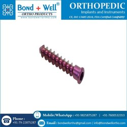 4.0 Mm Low Profile Cancellous Screw