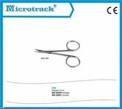 Curved Straight Iris Scissor - Ophthalmic Surgical Instruments-MS-52061