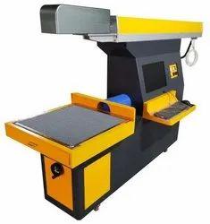 Galvo CO2 Laser Marking Engraving Machine - Fabric  Marking