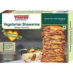 Vezlay Soya Vegetarian Shawarma, 200 G (7.05 Oz), Packaging Type: Box