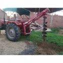 Loader International Tractor Post Hole Digger, Petrol