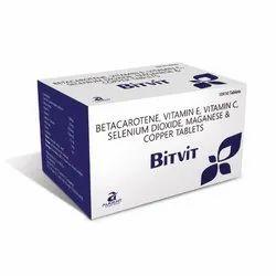 Bitvit Tab(Betacarotene,Vit E,Vit C, Selenium Dioxide Copper & Manganese) For Franchise