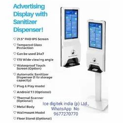 Hand Sanitizer Floor Stand Public Soap Dispenser