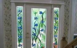 Multicolor Printed Decor Glass, For Decoration