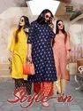 Style In Vol 3 - Rayon Printed Designer Kurtis