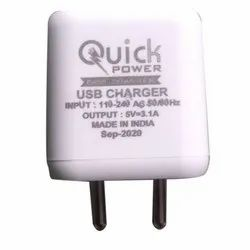 Quick Power Dual USB Charger Adapter