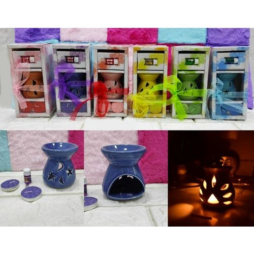 Ceramic Aroma Burner Diffuser Gift Sets
