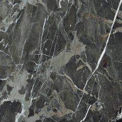 New Dark Black Marble Slab Porcelain Tiles in India, For Flooring, Thickness: 8-10 mm