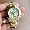 Rolex Silver And Gold Watch For Man