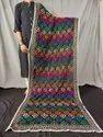 Heavy Embroidered Georgette Phulkari Dupatta