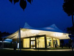 Resort Roof Tensile Structure