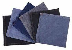 Plain 6 Pack Washed Denim Napkin 19 x 19 inch
