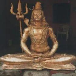 Brass Shiva Statue, for Worship