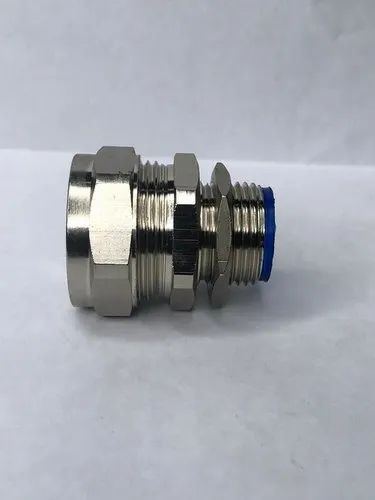 Nickel Plated Brass Adaptor - Liquid Tight Conduit Flexible Conduit Fittings