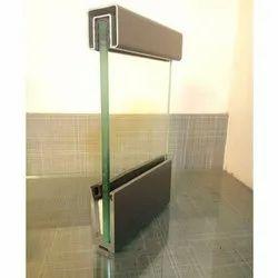 Square Color Coated Aluminium Glass Railing System