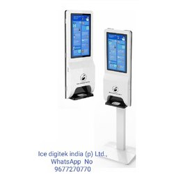 ce automatic touch free soap hand sanitizer dispenser billboard station floor standing