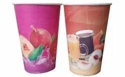 Printed Paper Glass, For Event and Party Supplies, Size: 330 Ml