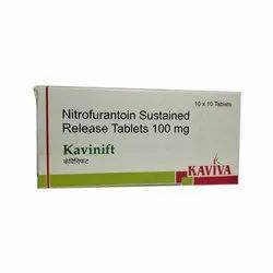 Nitrofurantoin Sustained Release Tablets 100 mg