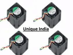 Unique India 4020 5 Blade Brushless DC 12V Axial Cooling Fan Z8Y2 (40 x 40 x 20 mm)