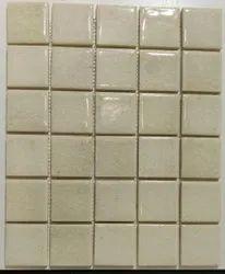 Plain White Handmade Ceramic Tiles