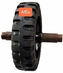 Trommel Solid Tyre For Adler Tyre