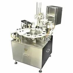 Semi Automatic Pneumatic Cup Filler Machine