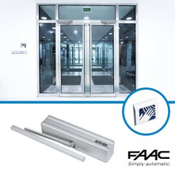 Automatic Swing Door with Touchless Solution